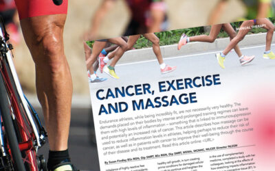 Cancer, Exercise and Massage